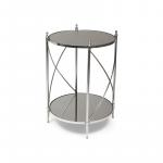 Pivot Side Table, Mirror