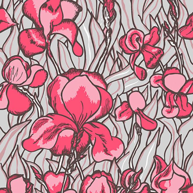 image iris wallcovering