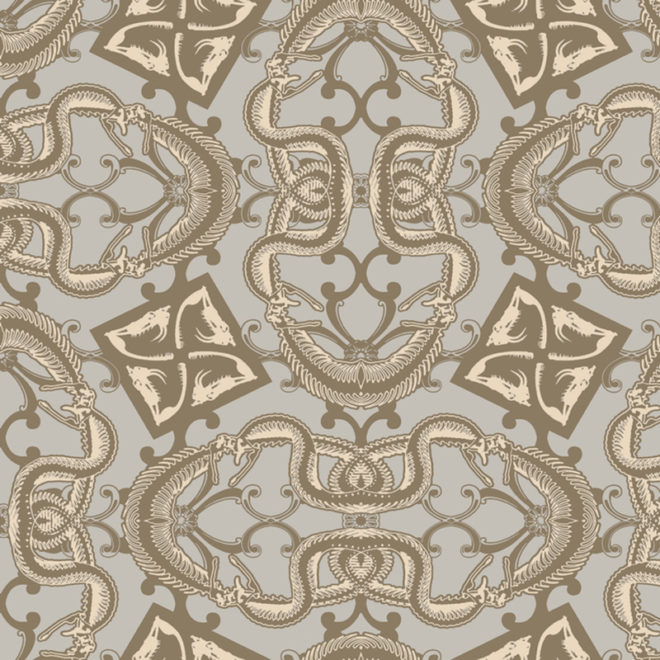 image snakebit wallcovering