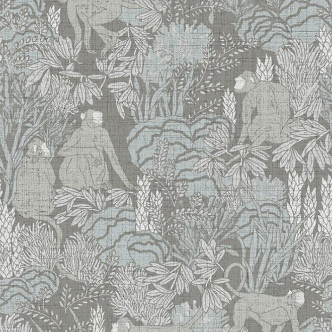 image curiosa langur wallcovering