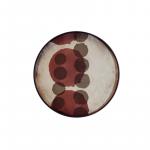 Pinot Layered Dots Round Tray, Small