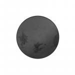 Charcoal Heavy Aged Mirror Round Tray, Small