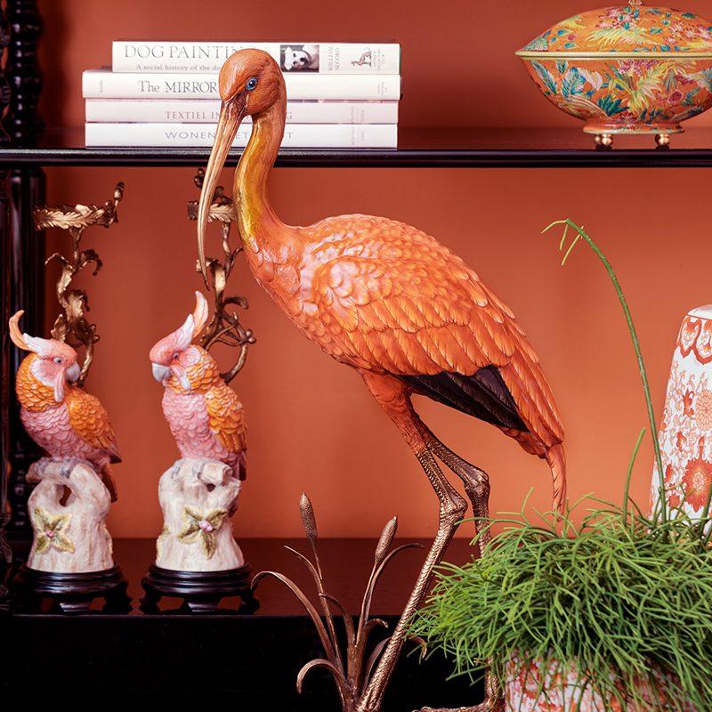 image crane figurine