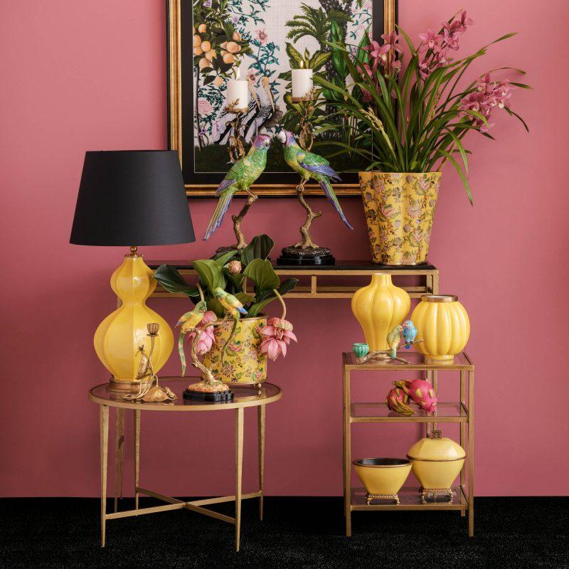 image yellow femvelar vase