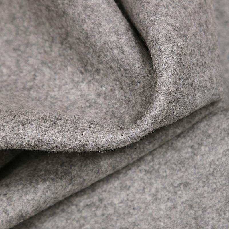 Randall Wool Fabric, Grey