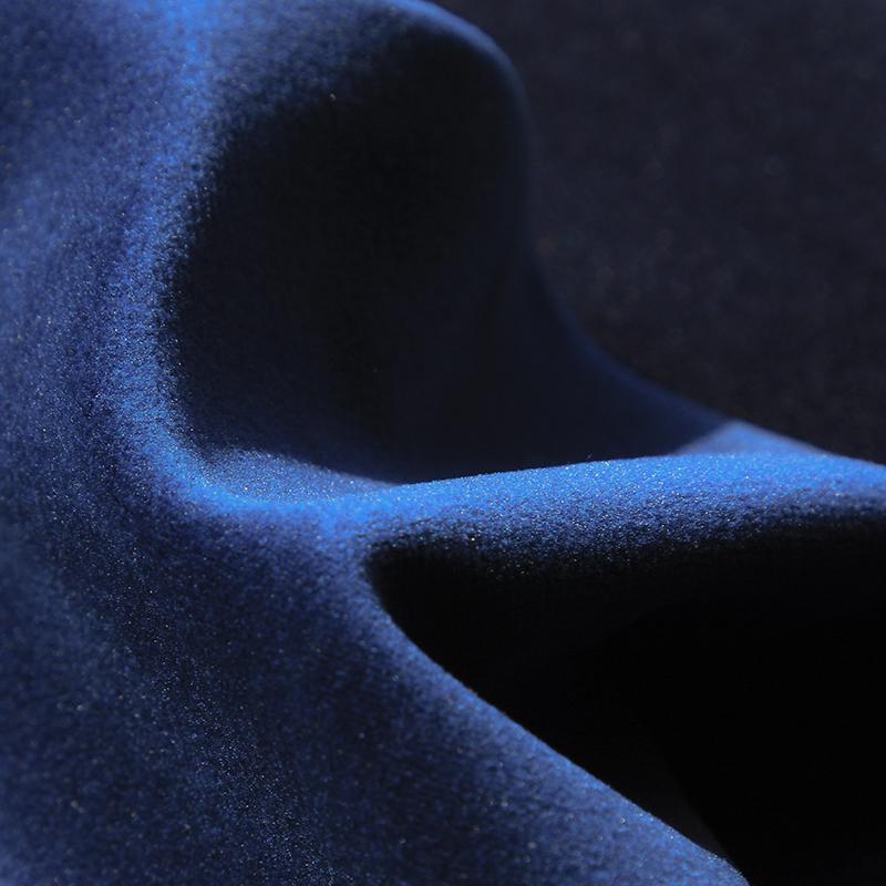 Matilda Velvet Fabric, Ocean Blue