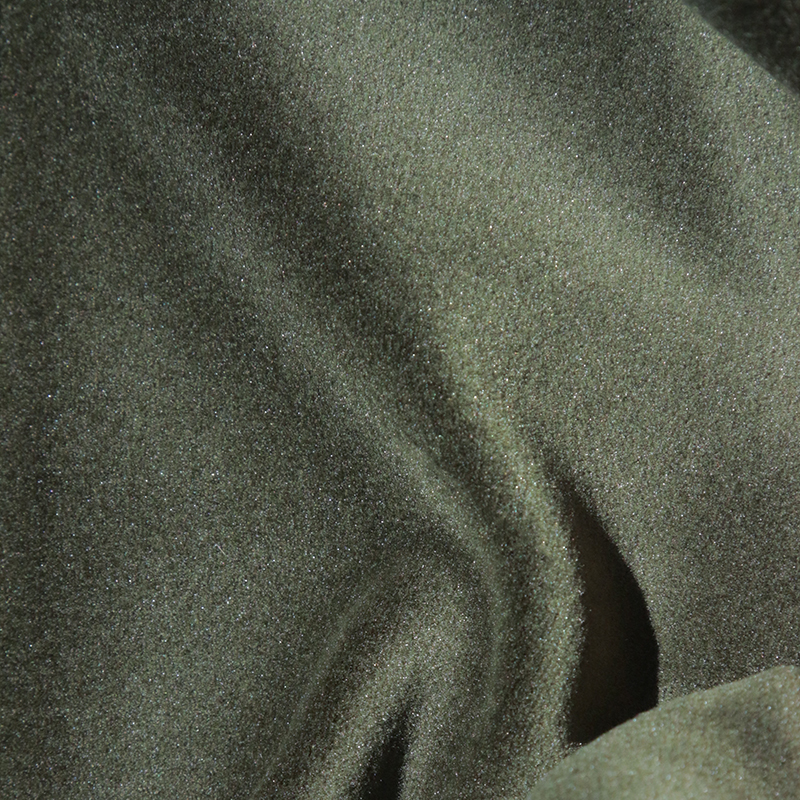 Matilda Velvet Fabric, Seaweed Green