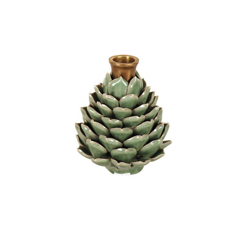 image artichoke candleholder