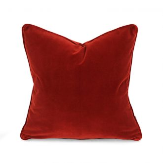 papillon rust cushion image