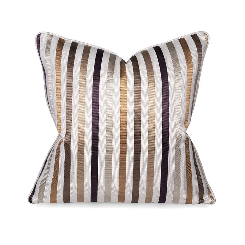 Textured Stripes Cushion, Large