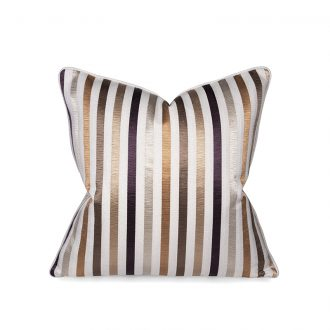 Textured Stripes Cushion, Medium