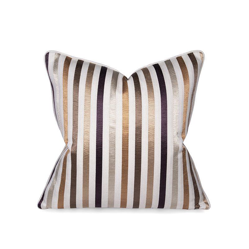 Textured Stripes Cushion, Medium