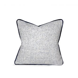 Reversible Wool & Velvet Cushion
