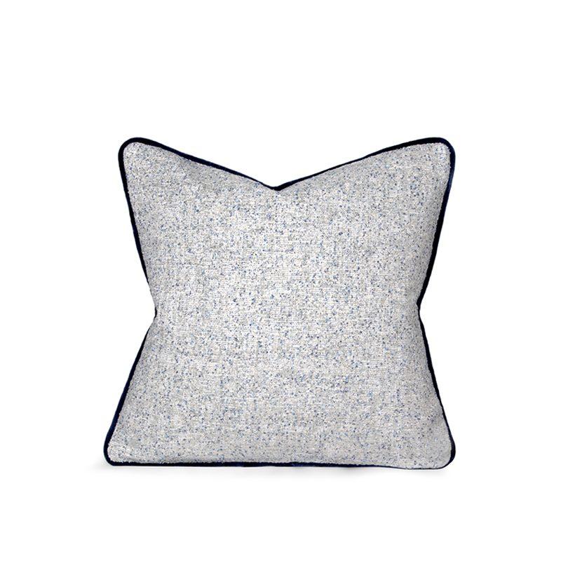 Reversible Wool & Velvet Cushion