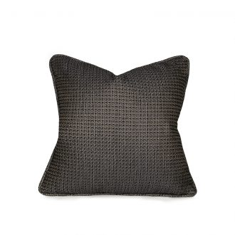 Green Patterned Cushion, Small