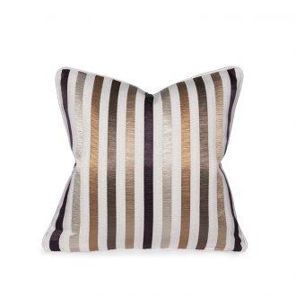 Textured Stripes Cushion, Small