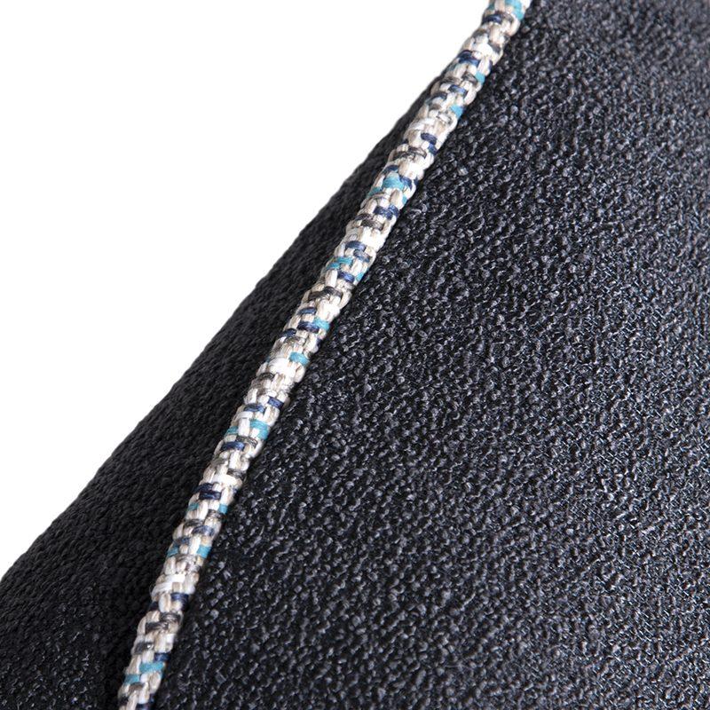 Dark Blue Textured Cushion