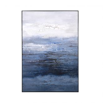 winter waters painting